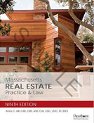 MA Real Estate Practice and Law 9th Edition - $24.95